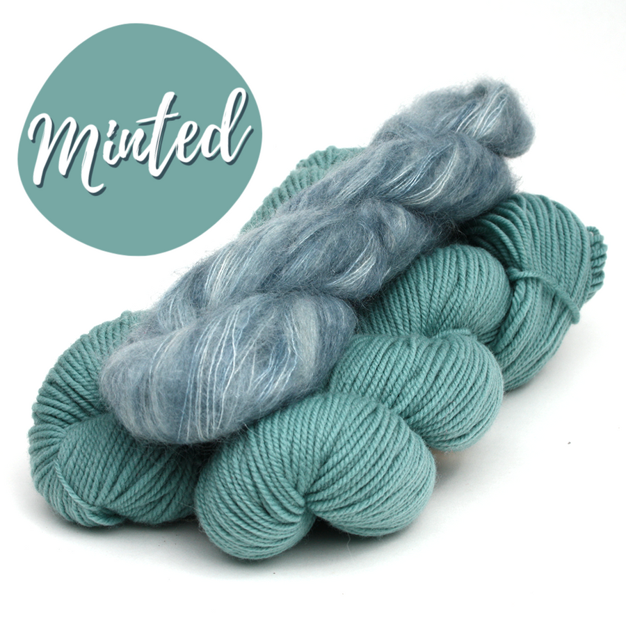Minted by Andrea Mowry - Knitting Kit
