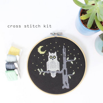 Diana Watters Night Owl Cross Stitch Kit