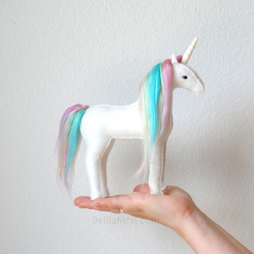 Delilah Iris DIY Felt Unicorn Kit