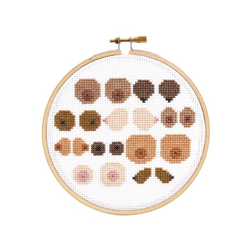 The Stranded Stitch Cross Stitch Kit