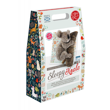 Sleepy Koala Felting Kit