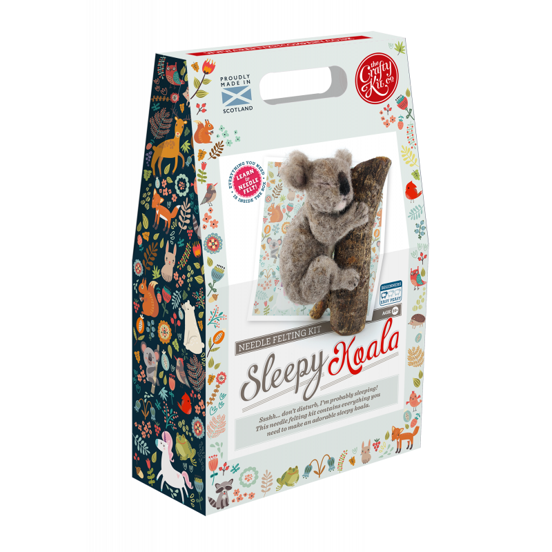 Felting Kit: Sleepy Koala