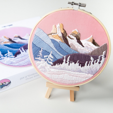 Anna Angiel Embroidery Kit | Three Sisters