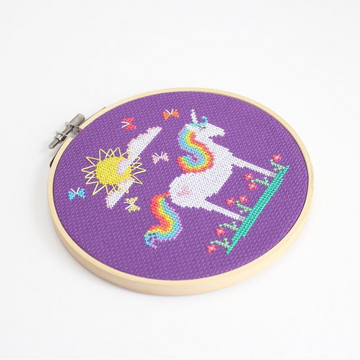 Diana Watters Sunshine Unicorn Cross Stitch Kit
