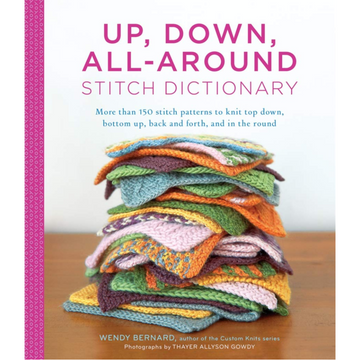 Up, Down, All-Around Stitch Dicitonary