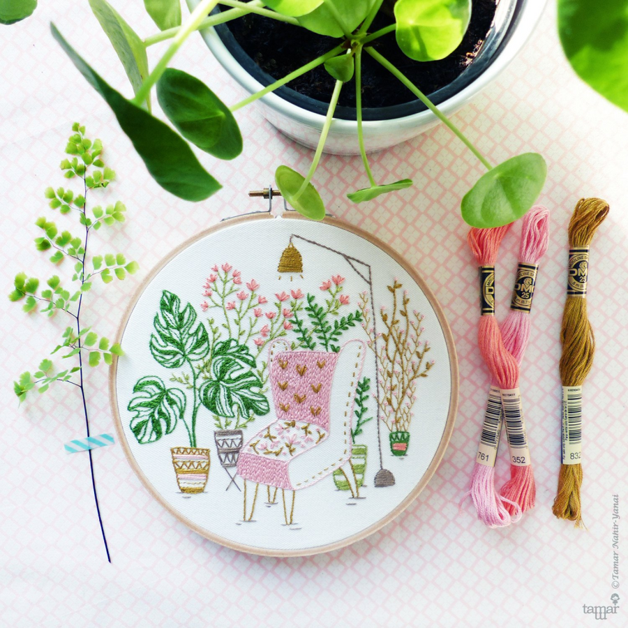 Tamar Nahir-Yanai Embroidery Kit 6in