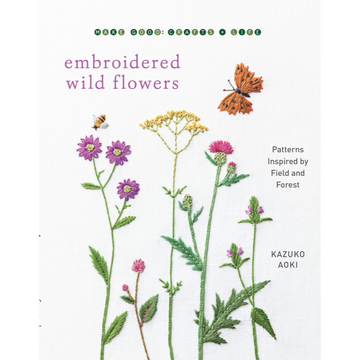 Embroidered Wild Flowers