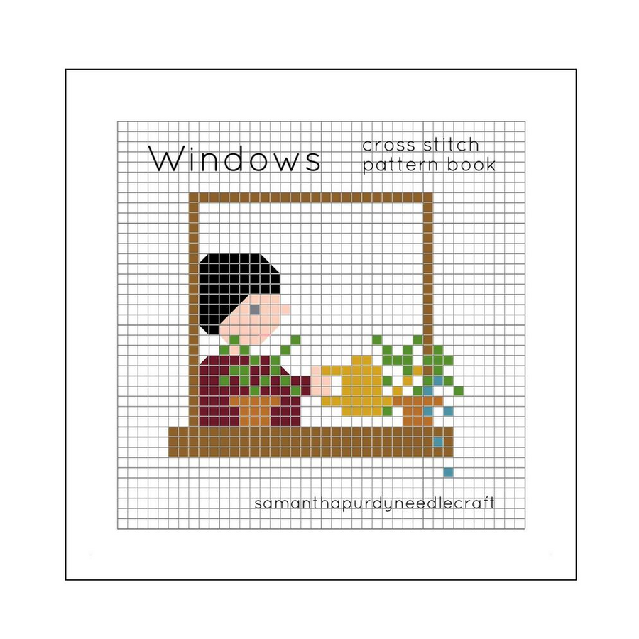 Samantha Purdy Pattern Book: Windows