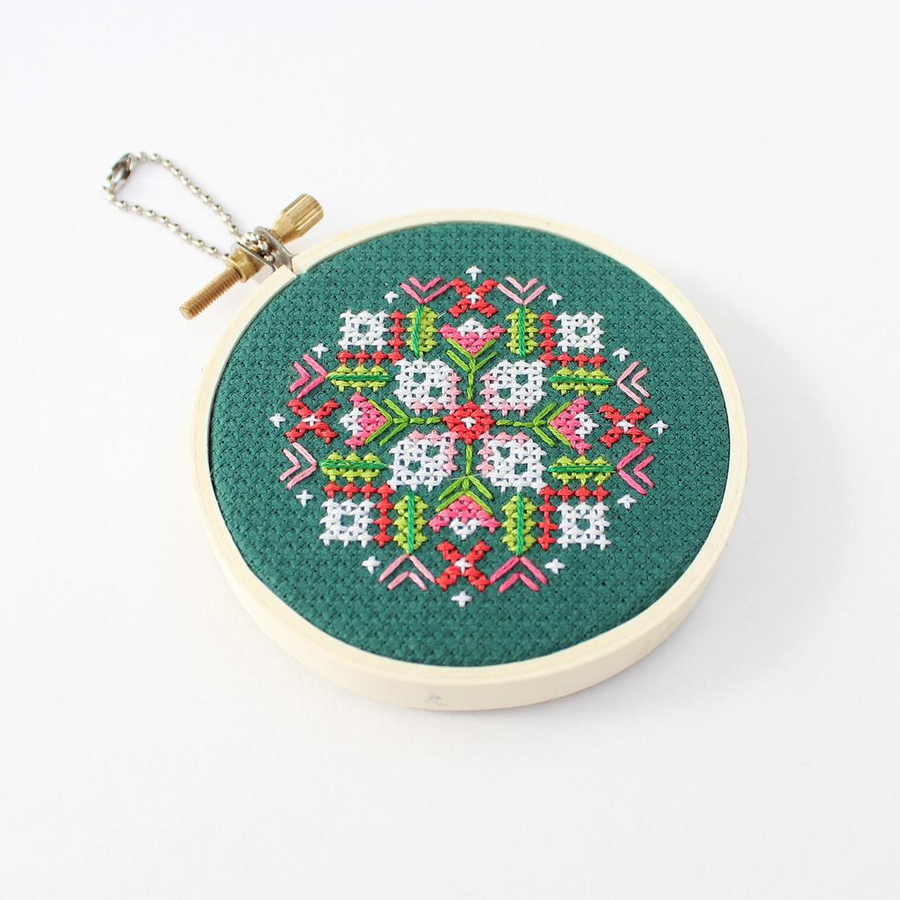 Diana Watters Holiday Ornament Cross Stitch Kit