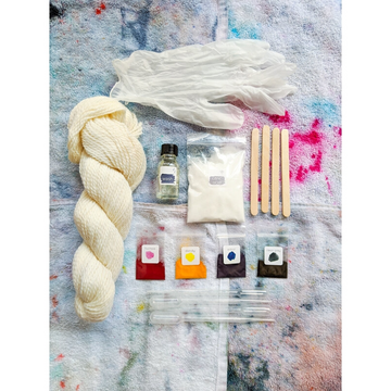 WE GATHER Yarn Dyeing Kit