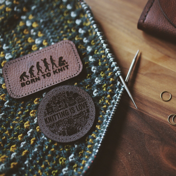 Purl & Hank Leather Patches
