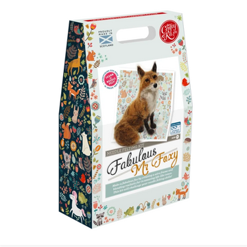 Felting Kit: Fabulous Mr. Foxy