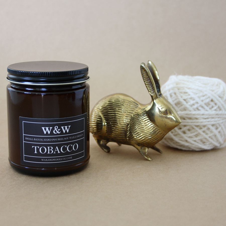Wax & Wool Candle