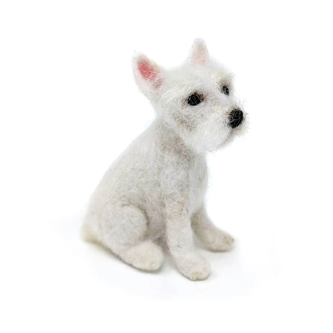 Felting Kit: Wee Westie