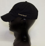 Distressed Hat - Black w/ Gold