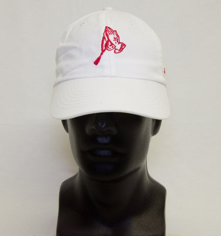Dad Hat - White n' Red