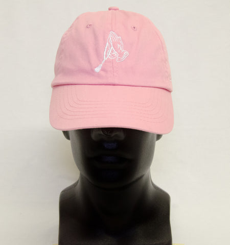 Dad Hat - Pink n' White