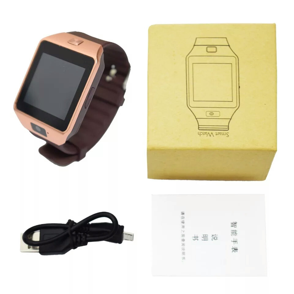 Bluetooth Smart Watch with Sim Card Slot