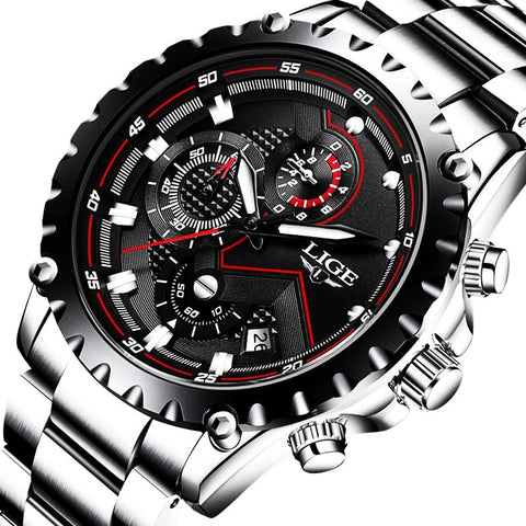 Luxury Full Steel Business Watch