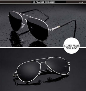 Polarized Pilot Driving Sunglasses