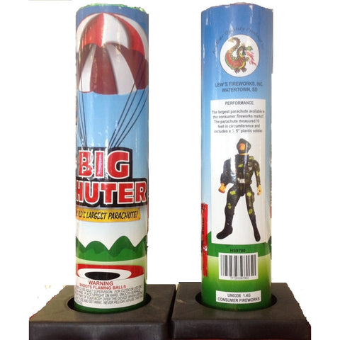 "Big Chuter ""World's Largest Pyrotechnic Parachute"""