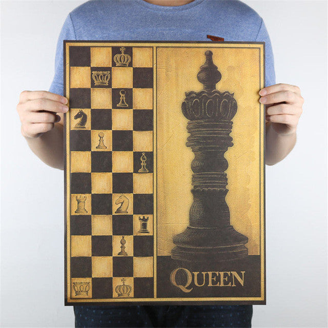 Queen On The Wall Poster