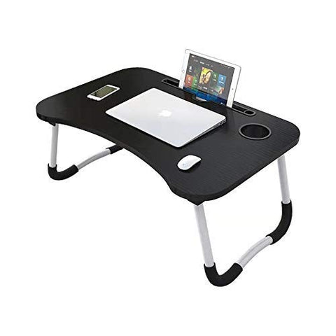 Ergonomic Study table with custom features - Black