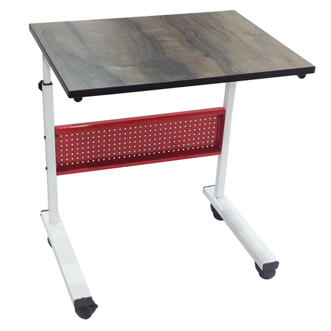 Multipurpose Work From Home Table with Wheels - Wudore