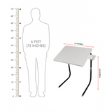 Table mate with dimensions | Wudore
