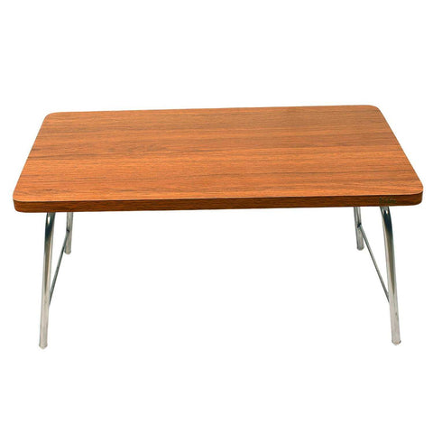 Walnut color bed laptop table