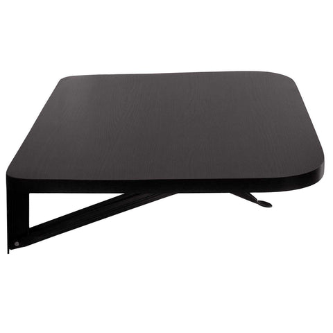 Wall mounted laptop table with folding attachment | Wudore