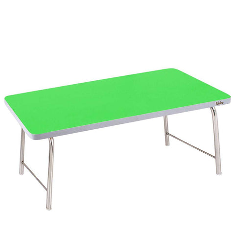 Laptop Table With Folding Steel Legs - Green | Wudore