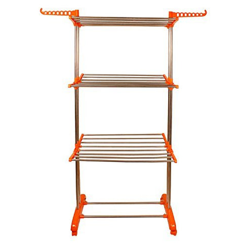 Jumbo cloth drying stand I Wudore.com