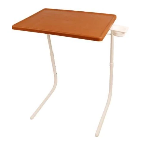 Multi utility Laptop Table I Chocolate with White
