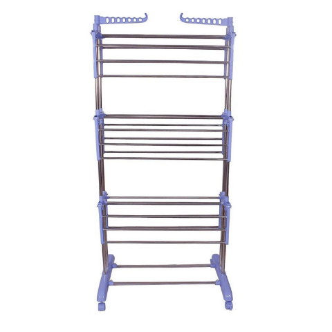 Cloth drying rack Blue variant I Wudore.com