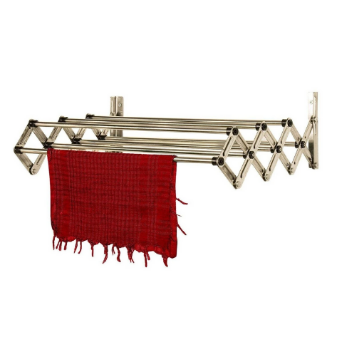 Wall Mounted 7 Lines Cloth Drying Stand
