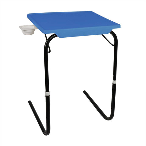 Tablemate with black legs and blue finishing | Wudore
