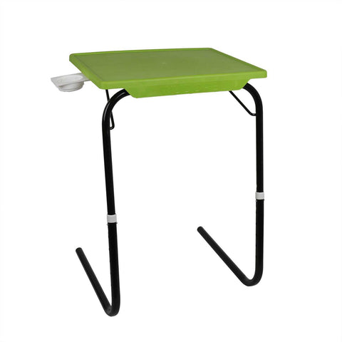 Tablemate with black legs and green finishing | Wudore