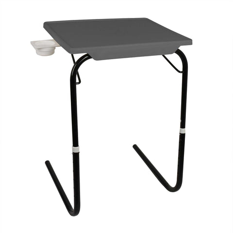 Wudore Tablemate with Black legs (Finish Color - Grey)