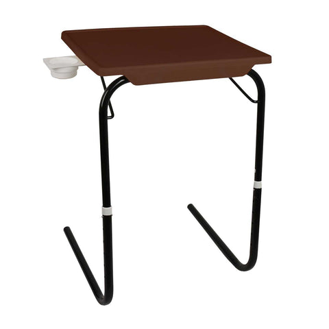 Tablemate with black legs and brown finishing | Wudore