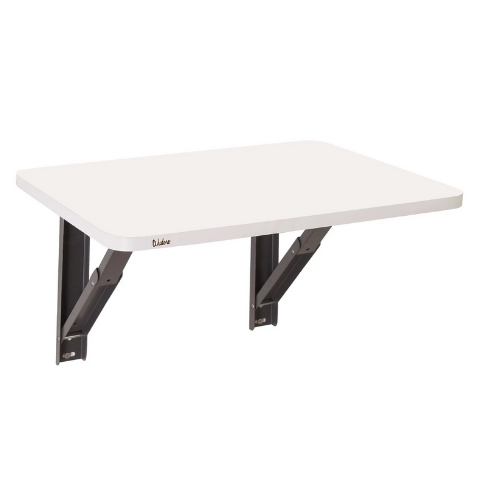Wall mounted folding Desk I Large White