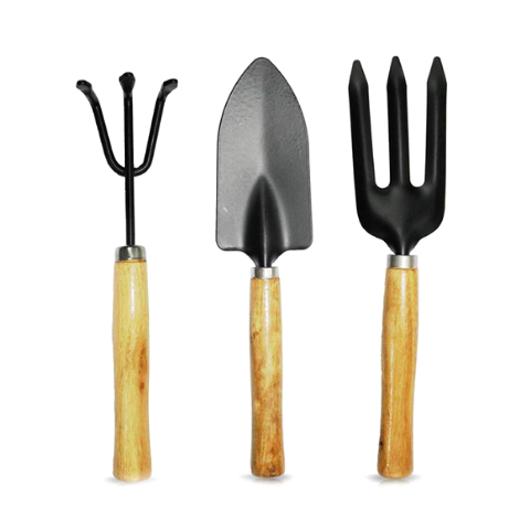 Gardening tool kit - 3 Pcs Ergonomic grip - Wudore.com