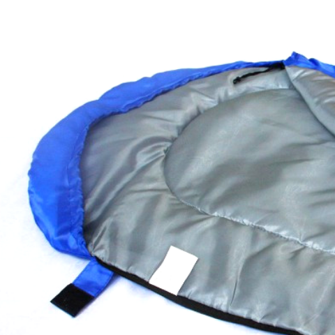 Ultra light portable sleeping bag with Compression sack I Envelop design