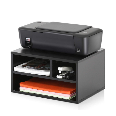 Printer stand 3-tier Black I On-Desk