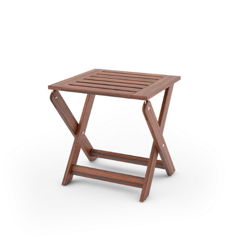 Patio seating stool I Foldable Design