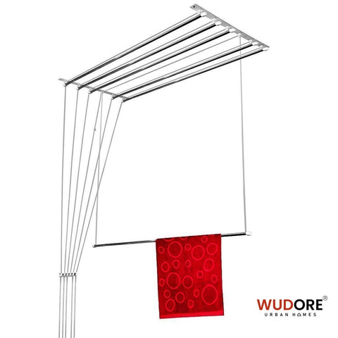 Pull and dry cloth hanger for urban homes in 6 Lines I DryMitra