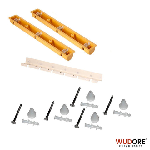 Ceiling cloth hanger spare parts clips, screws and channels from Wudore.com