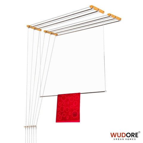 Ceiling cloth hanger for Balcony in 6 lines Super Luxury - Wudore.com