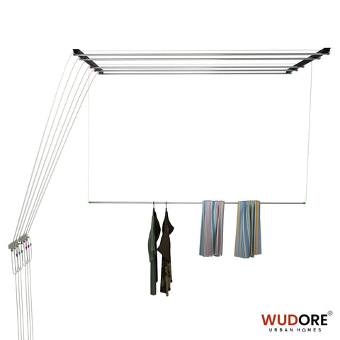 Pulley cloth drying hanger in 6 lines - 12mm OD I Superio
