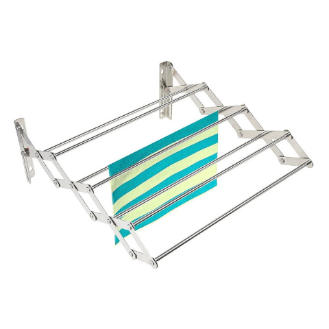 Wall mounted cloth drying stand I Wudore.com